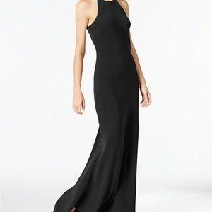 Calvin Klein Black Long Formal Dresses